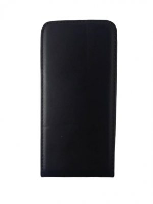 Кожен калъф тип тефтер за Asus Zenfone 2 ZE551ML черен