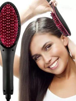 Електрическа керамична четка за изправяне на коса