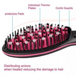 Електрическа керамична четка за изправяне на коса 4