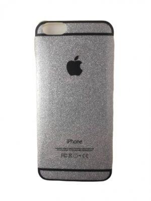 Силиконов калъф за iPhone 6/6S сребрист