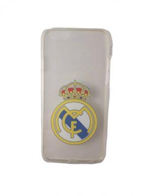 Силиконов калъф за iPhone 6/6S Реал Мадрид