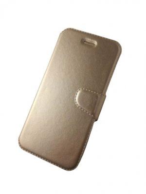Калъф тип тефтер за iPhone 6/6S златист 2
