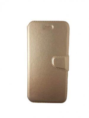 Калъф тип тефтер за iPhone 6/6S златист