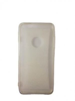 Силиконов калъф за iPhone 6/6S Plus прозрачен бял