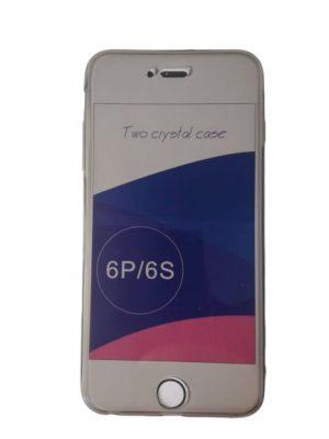 Двоен силиконов калъф за iPhone 6/6S Plus
