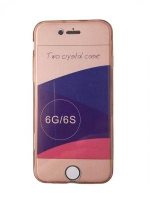 Двоен силиконов калъф за iPhone 6/6S