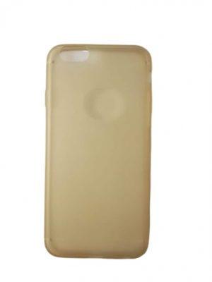 Калъф за iPhone 6/6S златисто-бежов (прозрачен)