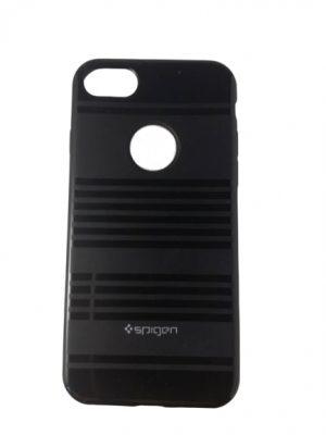 Луксозен силиконов калъф за iPhone 7/8 черен