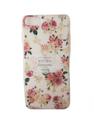 Калъф за iPhone 7/8 с розови цветя
