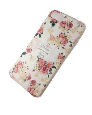 Калъф за iPhone 7/8 с розови цветя 2