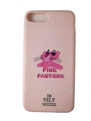 Калъф за iPhone 7/8 Plus Пинко Розовата Пантера