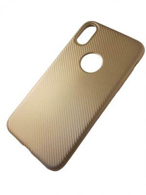 Калъф за iPhone X златист 2