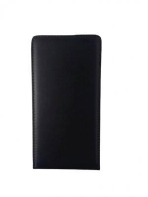 Кожен калъф тип тефтер за Lenovo A6010/А6000 черен