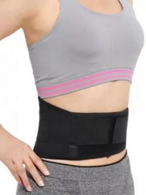 Регулируем турмалинов самонагряващ се магнитен колан за кръста