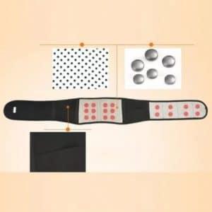 Регулируем турмалинов самонагряващ се магнитен колан за кръста 4