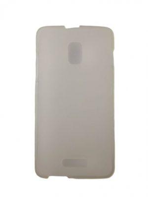 Силиконов калъф за Alcatel OneTouch Pop Star 3G (5022D) бял
