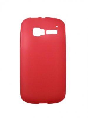 Силиконов калъф за Alcatel One Touch Pop C5 (OT-5036D) червен