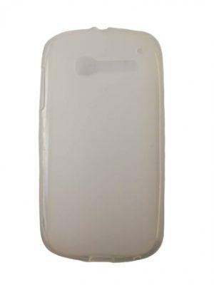 Силиконов калъф за Alcatel One Touch Pop C5 (OT-5036D) бял