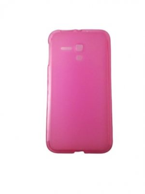 Силиконов калъф за Alcatel One Touch Pop D5 (OT-5038D) розов