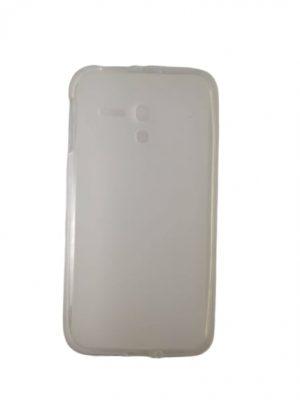 Силиконов калъф за Alcatel One Touch Pop D5 (OT-5038D) бял
