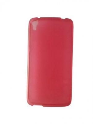 Силиконов калъф за Alcatel One Touch Idol 3 5,5 инча розов