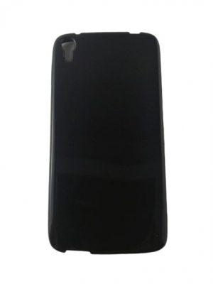 Силиконов калъф за Alcatel One Touch Idol 3 5,5 инча черен гланц