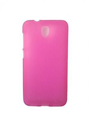 Силиконов калъф за Alcatel One Touch Idol 2 6037 / 6037K розов