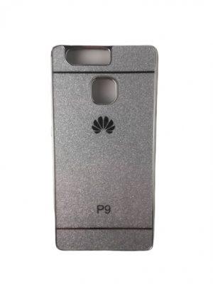 Силиконов калъф за Huawei P9 сребрист
