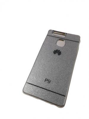 Силиконов калъф за Huawei P9 сребрист 2