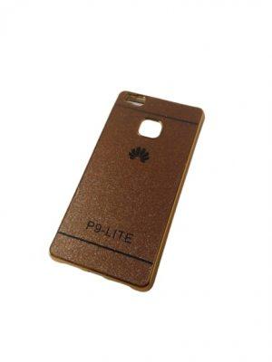 Силиконов калъф за Huawei P9 Lite златист 2