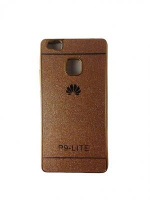 Силиконов калъф за Huawei P9 Lite златист