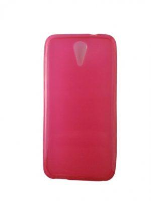 Калъф за HTC Desire 620 силиконов розов