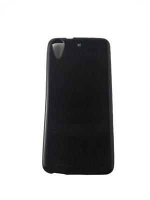 Калъф за HTC Desire 626 силиконов черен гланц
