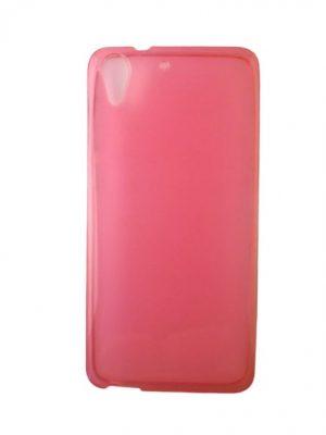 Калъф за HTC Desire 728/728G силиконов розов