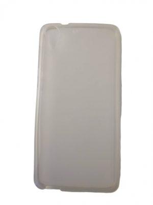 Калъф за HTC Desire 728/728G силиконов бял, прозрачен