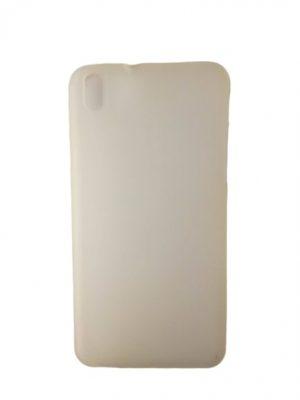 Силиконов калъф за HTC Desire 800/816 бял