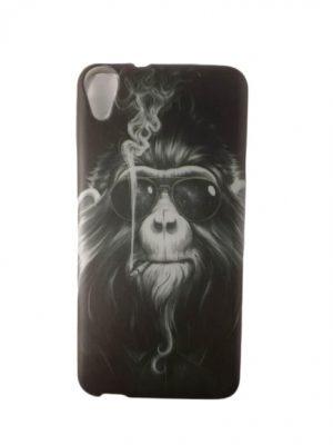 Калъф за HTC Desire 820 маймуна с очила и цигара
