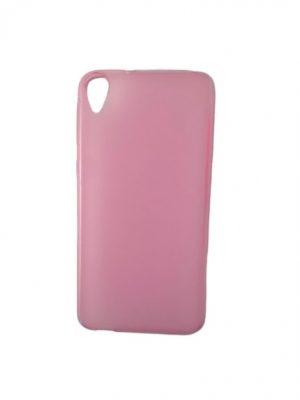 Калъф за HTC Desire 820 силиконов розов