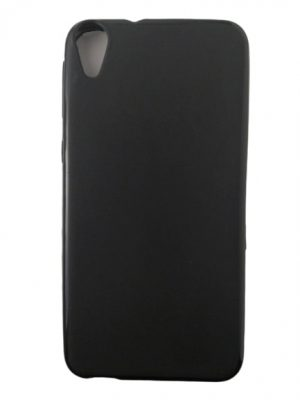 Силиконов калъф за HTC Desire 820 черен, мат