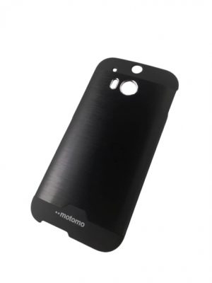 Твърд гръб за HTC One (M8) / HTC One 2 черен 2