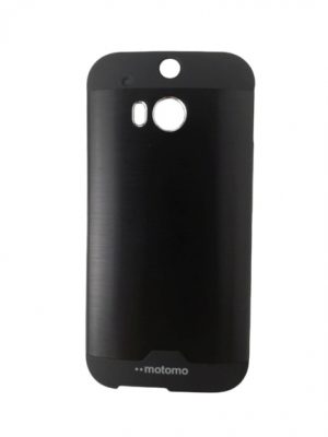 Твърд гръб за HTC One (M8) / HTC One 2 черен
