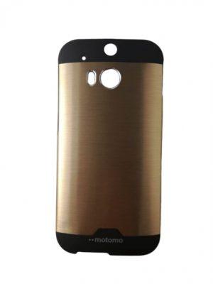 Твърд гръб за HTC One (M8) / HTC One 2 бронз