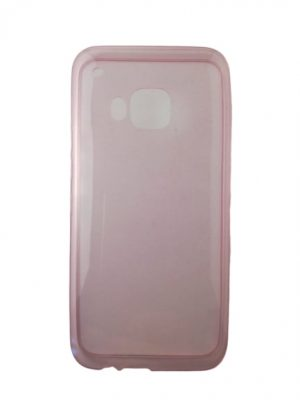 Силиконов калъф за HTC One M9 светло розов