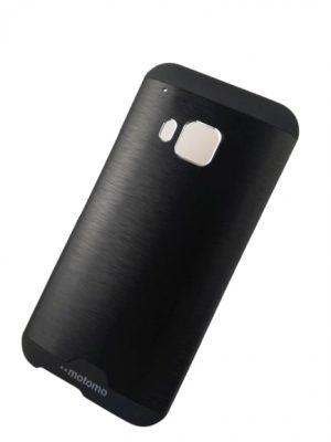 Твърд гръб за HTC One M9 черен 2