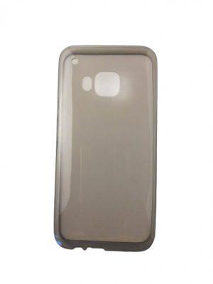 Силиконов калъф за HTC One M9 прозрачен сив