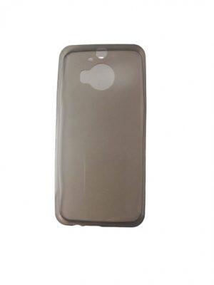 Силиконов калъф за HTC One M9 Plus прозрачен сив