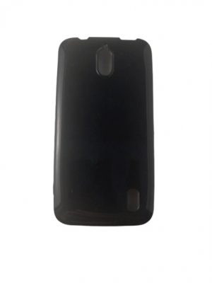 Силиконов калъф за Huawei Y625 черен, гланц