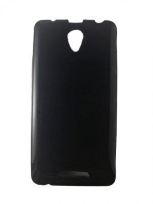 Силиконов калъф за Lenovo A5000 черен, гланц