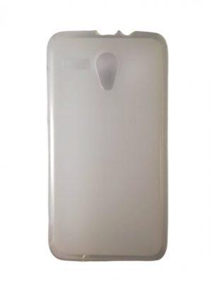 Силиконов калъф за Lenovo A606 бял