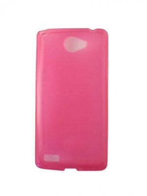 Силиконов калъф за LG Bello II / 2 розов